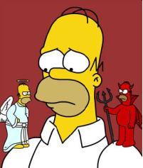 shoulder angel Homer