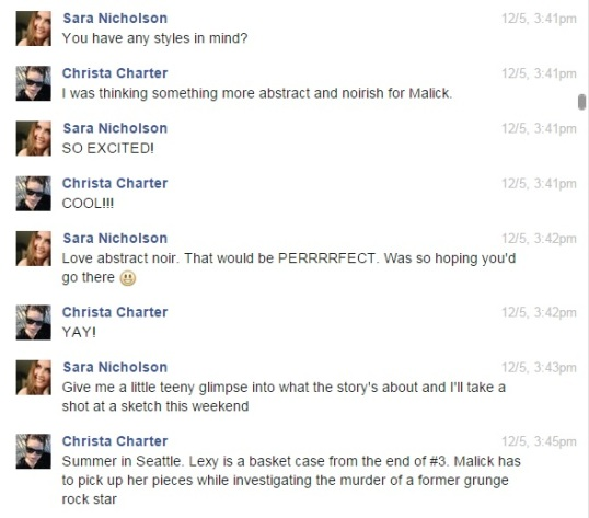 Convo with Sara about Malick covers
