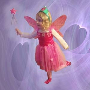 This precious thing is Allie the Feel-Better Fairy. Thanks to my dear friend Nori. <3