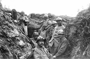 trench WWI