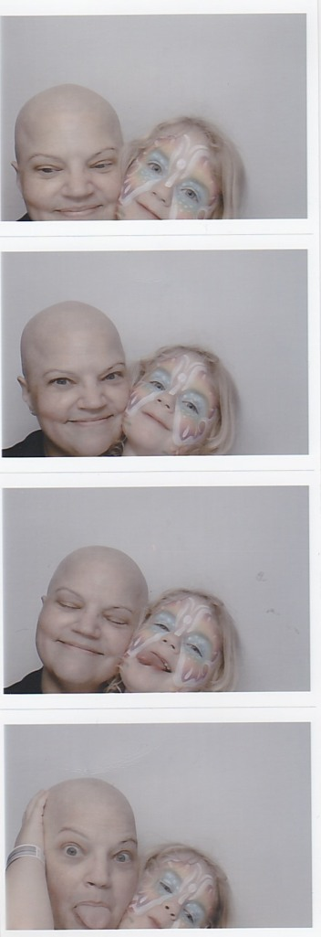 Mommy and Allie photo booth